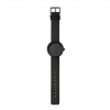 Gift idea: LEFF amsterdam D38 Tube watch by Piet Hein Eek - black body & leather strap