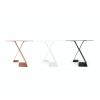 Dance Table by ignore - anthracite, white or red-brown