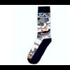 Delft blue sock design 5