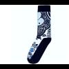 Delft blue sock design 3
