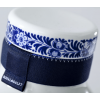 Blue Collar Bottle No.3 cap is decorated with Delft blue painting