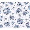 Delft Blond Tablecloth PVC 240 x 140 cm - Blond Amsterdam at shop.holland.com