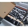 City map Haarlem on scarf with 3 pins