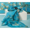Silk scarf Almond blossom - great gift for her
