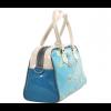 Fashionable bag in beautiful turquoise