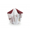 Bow vase Early Birds 'Flamingo' by Hendrik' -  business gift at shop.holland.com