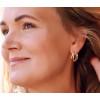 Gift idea : Clic ear studs Ilja silver