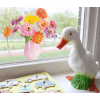 Always fresh flowers in the room; order your flat flower window stickers at Holland Design & Gifts at shop.holland.com