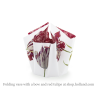 Folding vase with bow and design Tulips by Hendrik'