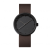 Black steel watch Tube D38 by LEFF Amsterdam, design Piet Hein Eek