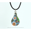 Graffiti necklace with pendant drop by Koema at shop.holland.com