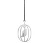 White Happy Bird necklace by Soonsalon