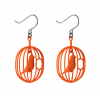 Dear birdlovers! Watch these awesome orange Happy Bird earrings