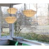 Discus S White Ceiling Light by Danielle Origami Lamps - trendy Dutch Design lights at shop.holland.com