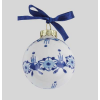 Christmas ball mini 5 cm in Delft blue, make your own typical Dutch Christmas tree.