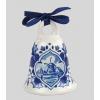 Delft blue Christmas tree bell by Royal Delft makes a charming Christmas tree