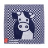 Kitchen Towel Cow by Miffy in blue and white