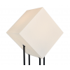 The Starlight Medium is 128 cm high and has a white or light grey cube. A lamp with character, a star in your interior!