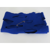 Wool felt stole shawl cobalt blue - nice gift for her