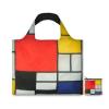 Foldable Loqi bag Mondrian: always a shopper at hand