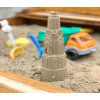 Sand mold Mint Tower 37 cm yellow from Sandmarks - great gift for kids