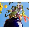 My Superhero Vase large by Jasmin Djerzic in blue and gold