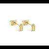Jordaan Ear Studs 14 kt gold plated