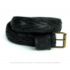 Pants Up Belt Black M 90 cm - by The Upcycle Amsterdam