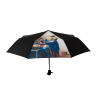 Umbrella with the print of the painting The Milkmaid from the Rijksmuseum