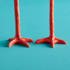 Long Legs candlesticks look like chicken legs: funny and extraordinary design
