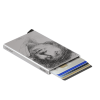 Secrid designed this special card protector with a unique decoration based on Rembrandt's' Self-portrait