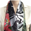 Silk Jeroen Bosch scarf  Colour of your Heart inspired by 'Garden of Lust'