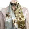 Silk scarf River Adventure with Jeroen Bosch 'Garden of Lust' print