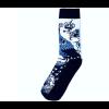 Delft blue sock design 2