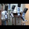 Delft Blue Socks ON Socks & Royal Delft Set of 5 different socks  - nice gift