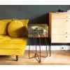 Dutch Design Storage Box Golden Still Life - 40 x 31 x 21 cm