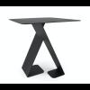 Back of the side table Dance black