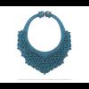 The Classic necklace aqua scuba leather look at shop.holland.com