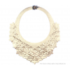 The Classic necklace gold leather look at shop.holland.com