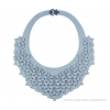 The Classic necklace ice blue leather look at shop.holland.com