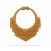 The Classic necklace ocher leather look at shop.holland.com