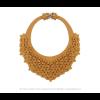 View the Classic necklace ocher scuba by Iris Nijenhuis at shop.holland.com