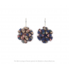 The Mini's earrings in Paeonia design by Iris Nijenhuis at shop.holland.com