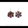 The Mini's earrings in Skulls print by Iris Nijenhuis at shop.holland.com