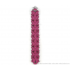 The Slim bracelet fuchsia scuba suede by Iris Nijenhuis at shop.holland.com