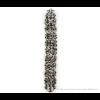 The Slim bracelet black and white Pied de Poule print @shop.holland.com