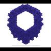The Superb necklace in cobalt blue and black reversible Iris Nijenhuis design at shop.holland.com
