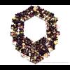 The Superb necklace in black and magnolia print reversible Iris Nijenhuis design at shop.holland.com