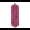 The Wide bracelet fuchsia scuba suéde at shop.holland.com