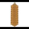 The wide bracelet ocher scuba suede at shop.holland.com